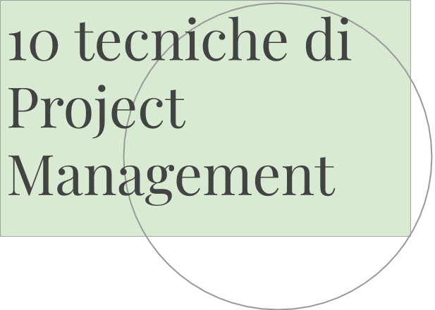 tecniche di project management
