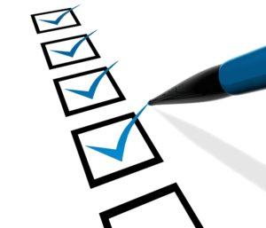Checklist - To do list